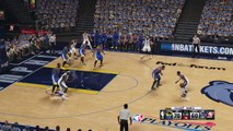 WARRIORS vs GRIZZLIES - Luis Presa (warriors) West conference semifinal PLAYOFFS game 6-part 6 to 8