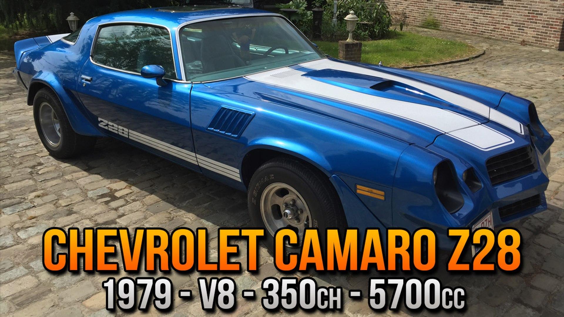 Chevrolet Camaro Z28 1979 V8 5700cc 350ch Customization Video Dailymotion