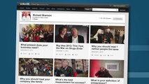 Richard Branson Explains His Secrets to Success - LinkedIn Exclusive