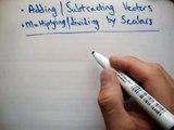 Vectors : Adding and Subtracting Vectors