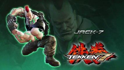 Jack se dévoile de Tekken 7