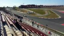 F1 2015 Barcellona Test Day McLaren Honda MP4 30 Engine Sound