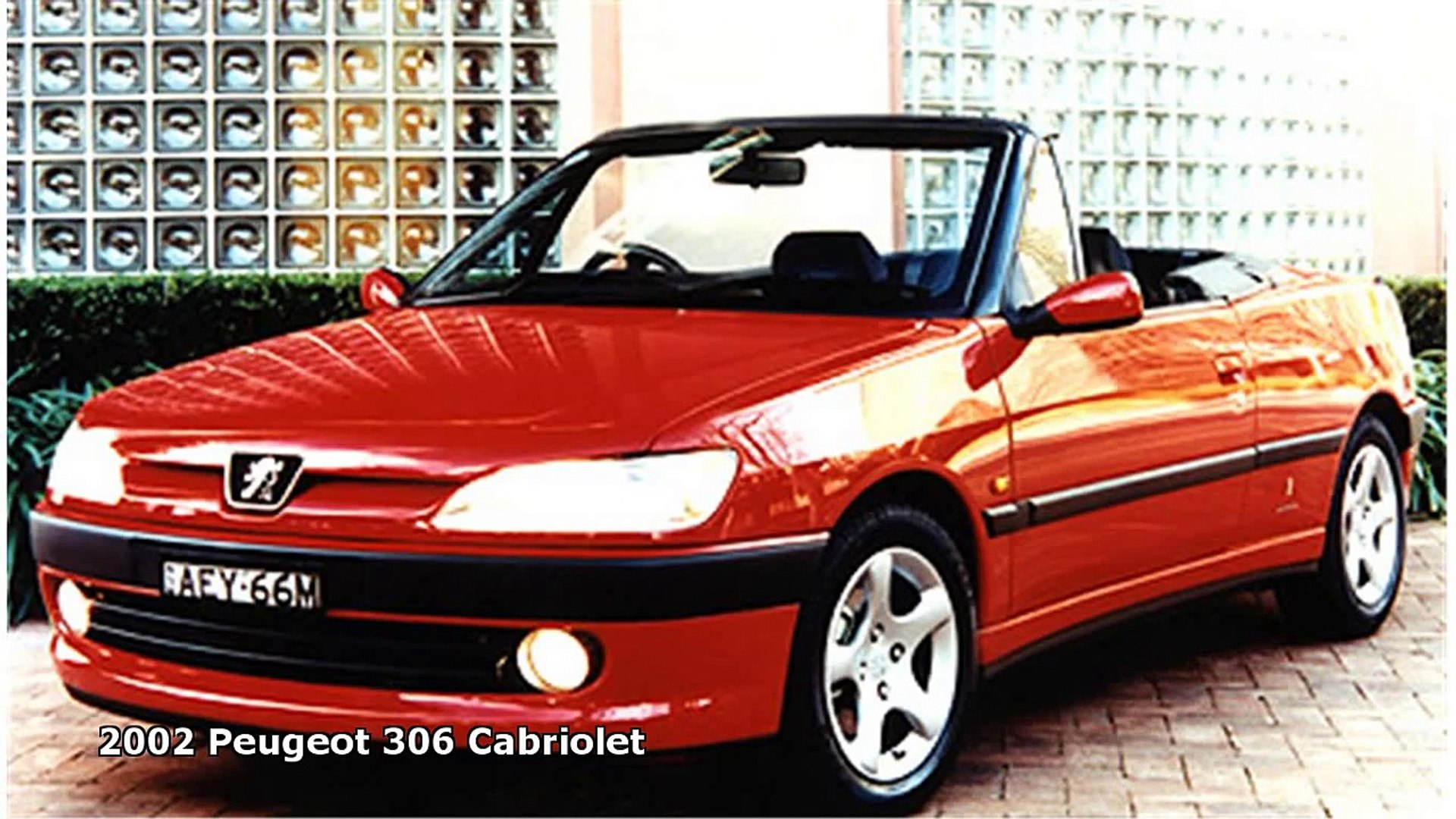 2002 Peugeot 306 Cabriolet Video Dailymotion