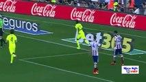 Atletico Madrid Vs Barcelona 0-1 - Lionel Messi Goal  2015 - [High Quality]