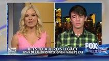 Son of fallen Colorado deputy gets father's patrol car