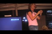 Ashleigh Mullens sings 'Find Out What's Happening' Elvis Week 2005