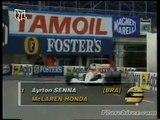 Ayrton Senna Monaco 1991 Pole Lap