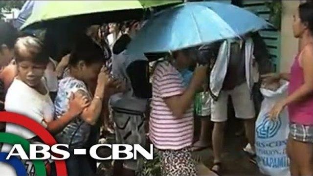 Relief goods kailangan sa evacuation centers