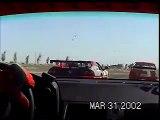 Track: Porsche 928 overtaking a Ferrari