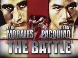 Manny Paquiao vs Erik Morales 2006, Round 10
