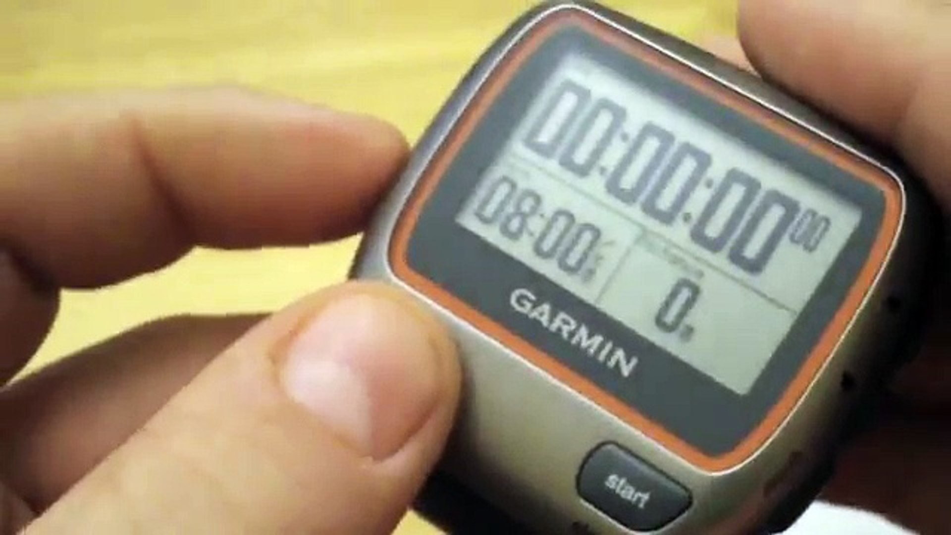Garmin Forerunner 310 Xt How To Reset Your Device When It Is