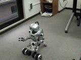 moving test of robot id-01 ロボットのテスト ロボットの製作90