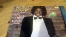 Michael Jackson- Off the wall vinyl album unboxing