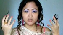 Smokey Purple Clubbing Makeup Inspired by Cher Lloyd I Indian Nepali Beauty Vlogger I Tina Rai Pun