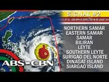 Storm signals raised as 'Ruby' nears Visayas