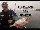 Kayak Fishing - Runswick Bay UK in an Ocean Kayak Fishing Kayak - GoPro