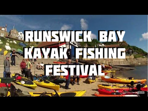 Kayak Fishing – Kayak Sea Fishing Festival Runswick Bay UK 2013 – GoPro