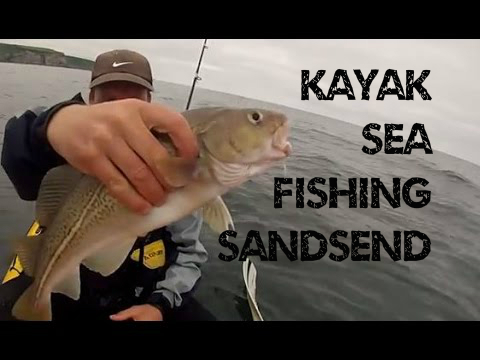 Kayak Fishing – Kayak Sea Fishing at Sandsend UK – GoPro