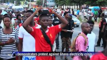 Ghana demonstration against electricity crisis