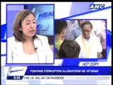 Wife Elenita wants VP Binay to drop presidential bid