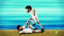 Manu Sánchez se convierte en Oliver y Benji- 'Si tocan el fútbol iré a la revolución'-El Último Mono