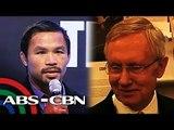 Senador sa US, nag-aabang rin sa bakbakang Pacquiao-Mayweather