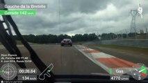 7 hot Laps @ Race Track Dijon 2014, Porsche 996 Turbo vs 996 Turbo [1:35]