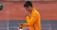 Djokovic se blesse en ouvrant le champagne
