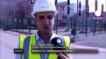 Fas'ta yenilenebilir güneş enerjisi santrali