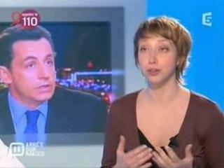 Sarkozy menteur sur immigration
