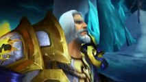 The Death of The Lich King Cinematic World of Warcraft WOTLK