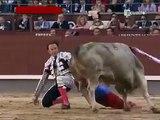 Toro cornea gravemente en la cara a torero Julio Aparicio