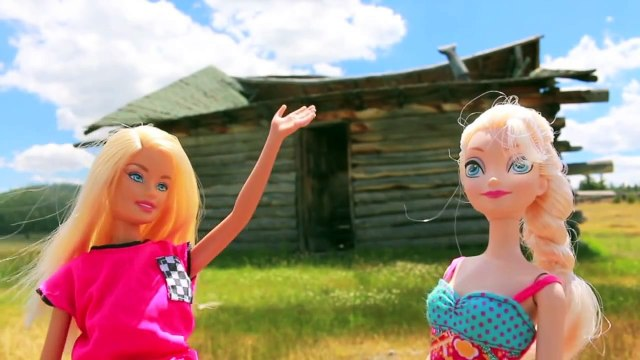 Frozen ELSA VACATION Barbie Airplane Day 2 Disney Parody Anna Barbie Ultimate House AllToyCollector