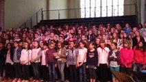 Chant des collégiens en Sarthe