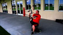 Le record du monde de tir à larc détenu par un homme sans bras
