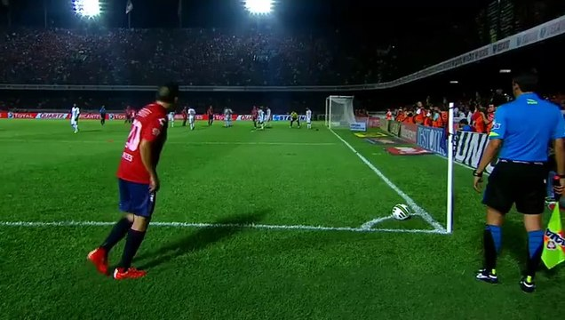 Ronaldinho Fantastic back heel pass vs Veracruz