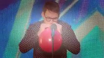 Olivers balloon act is a bit deflating. | Britains Got Talent 2015