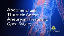 Abdominal & Thoracic Aortic Aneurysm Treatment: Open Surgery   Q&A