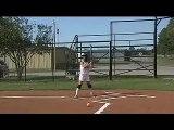 Kaitlyn Fitzpatrick   RF 2B Slapping High School Softball Skills and Slap Hitting Video
