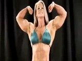 My female bodybuilding diet Kris Murrell Flexes Bodybuilding female workouts for women
