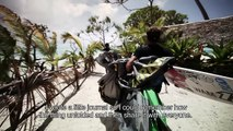 One amateur, one pro for a kitesurfing trip in Tahiti, with Jeremy Eloy