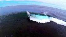 Shark Island Bodyboarding Aerial Compilation
