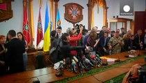Ukraine will russische Soldaten wegen Terrorismus anklagen