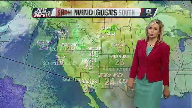 Chief Meteorologist Erin Christiansen's KGUN 9 Forecast at 5:00PM Thursday, September 26, 2013