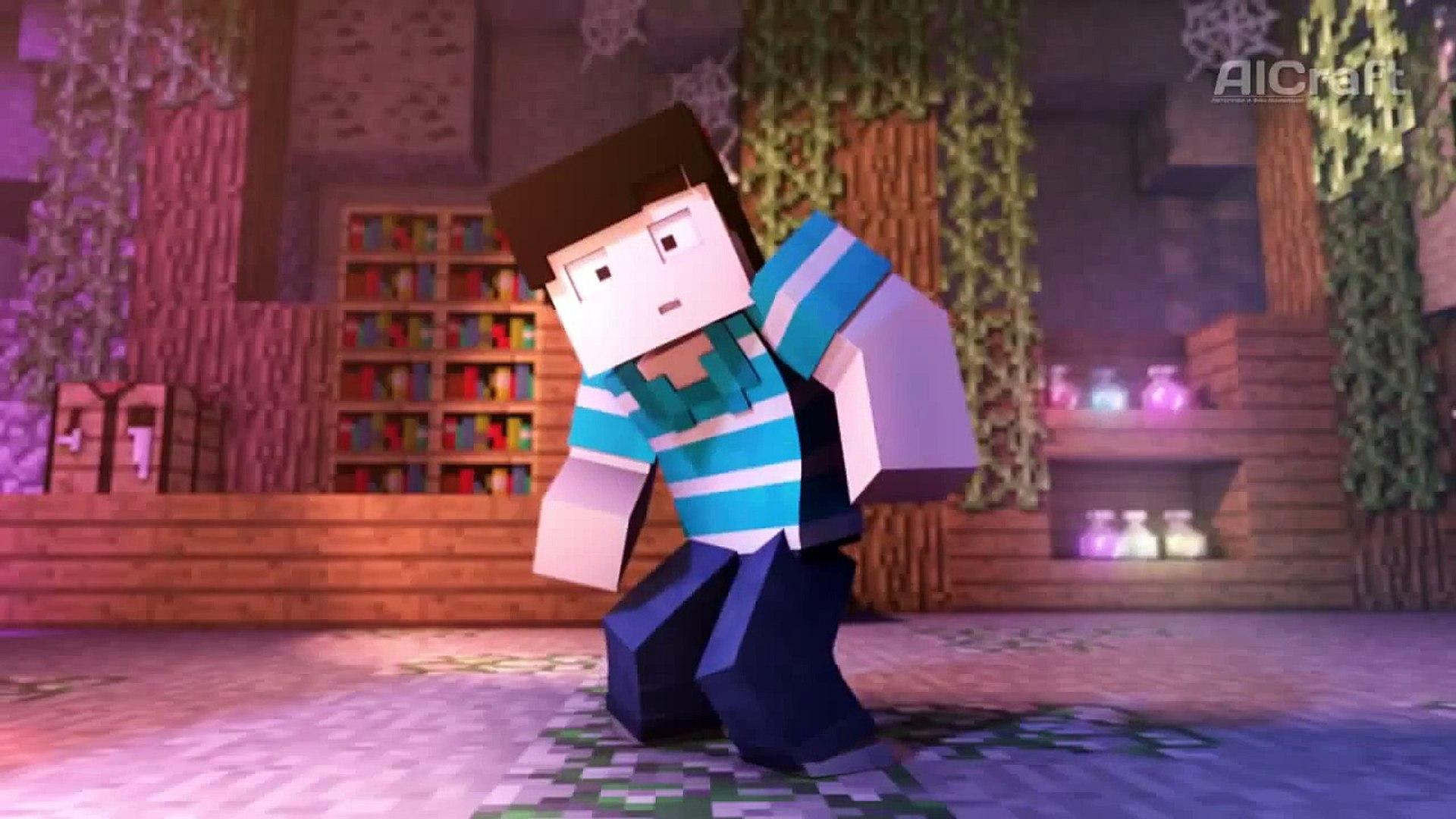 Minecraft анимация.Танцевальная битва - русская версия!