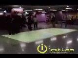 Sony Ericsson Interactive Floor @ MTR Hong Kong
