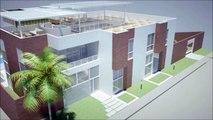 Casa moderna Minimalista 37.00 m x 37.00 m