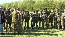 Britain's Prince Harry Views NATO Military Drills In Estonia