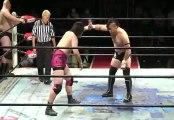 Daisuke Sekimoto, Yuji Okabayashi & Hideyoshi Kamitani vs. Kazuki Hashimoto & Tatsuo Omori (BJW)