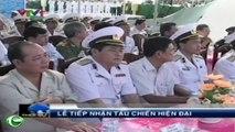 Lễ tiếp nhận tàu chiến hiện đại HQ 264, 265 và HQ 272 do Việt Nam sản xuất